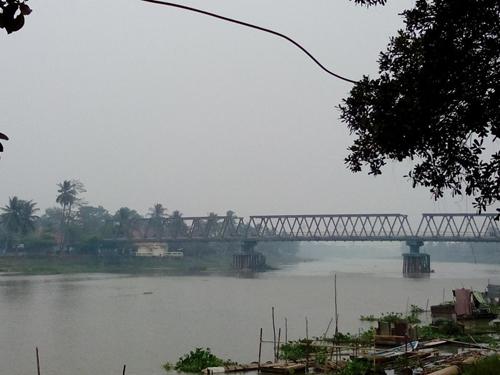 Kota Kayuagung Masih Diselimuti Kabut Asap