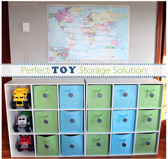 Toy Storage Solution