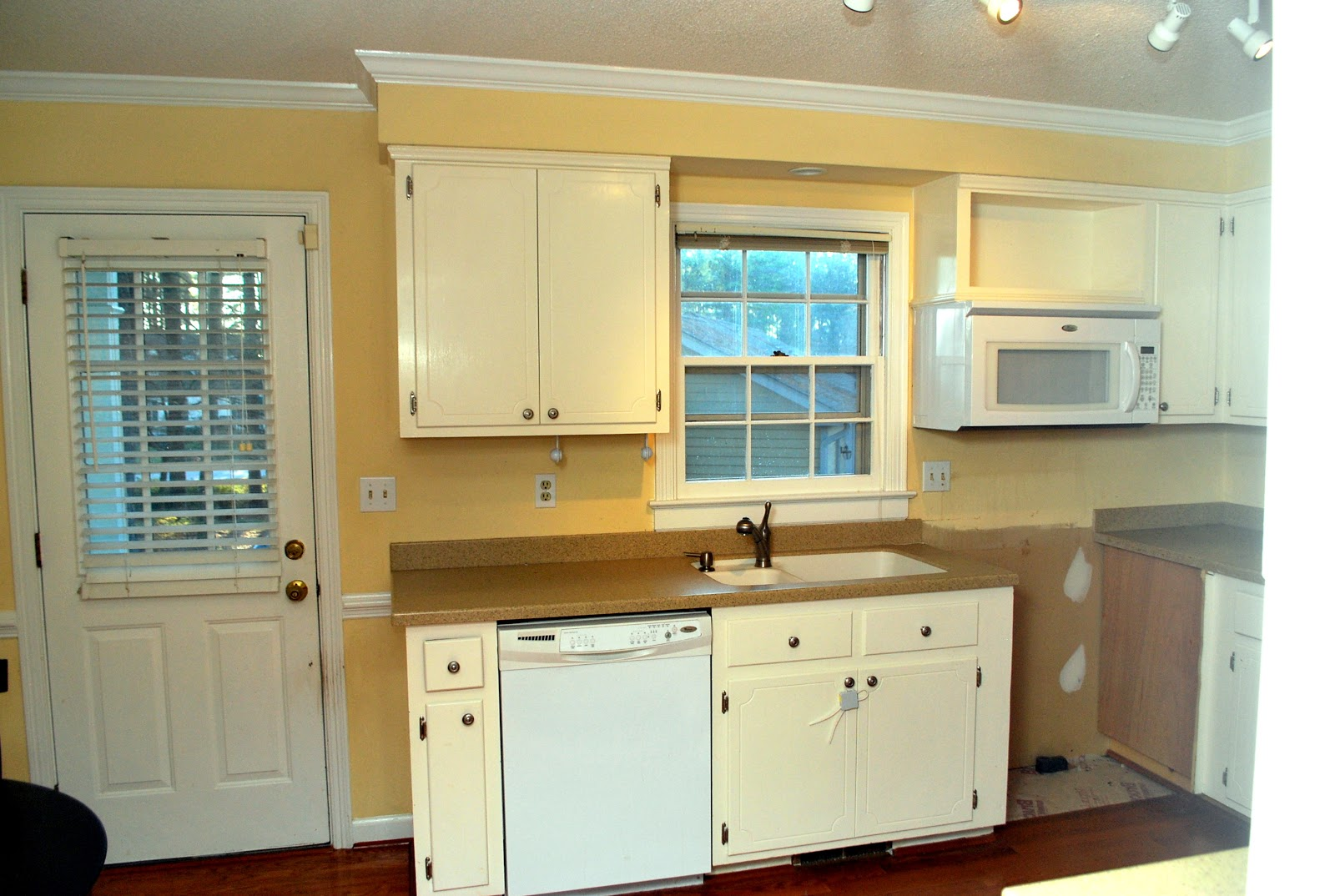 Kitchen Cabinets with Soffit
