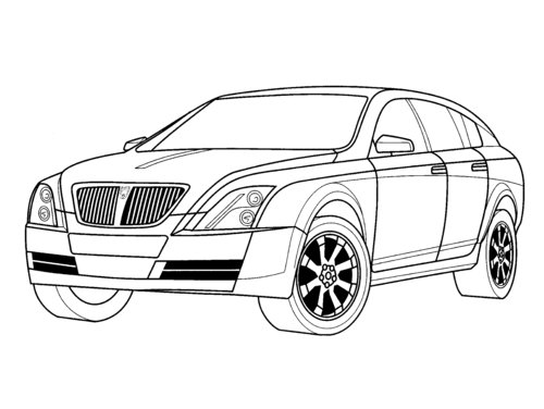 cars cartoon coloring pages - photo#35