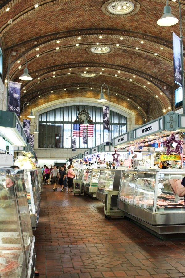 Cleveland's West Side Market #architecture #cleveland