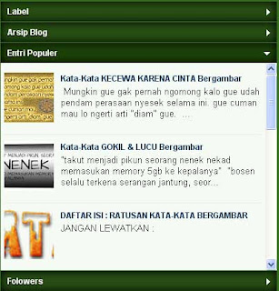 "Cara Merubah Background ""Popular Posts"" Dengan Warna"