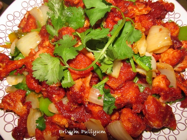 Hot Chilli Gobi (Real spicy )