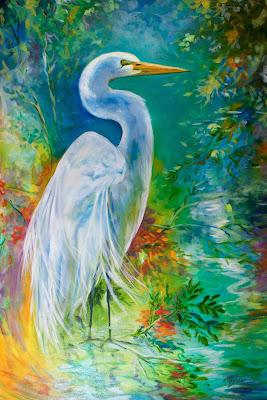 http://www.ebay.com/itm/M-BALDWIN-ORIGINAL-OIL-PAINTING-WILDLIFE-BIRD-EGRET-HERON-MARCIA-BALDWIN-/151549088016?