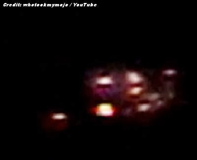 Oregon UFO Captured On Night Vision Video 1-21-14