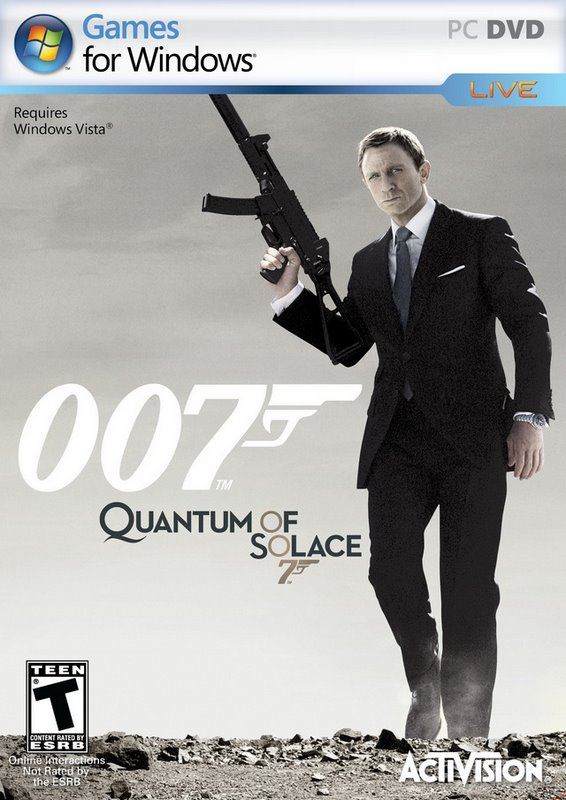 James Bond 007 Quantun of solace