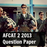AFCAT 2 2013 Question Paper And Answers