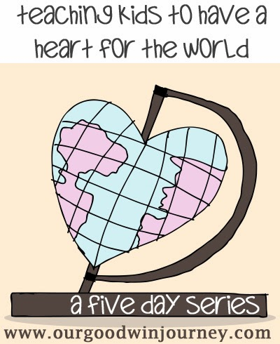 teaching kids to have a heart for the world {a 5 day series} #parenting #missions #faith