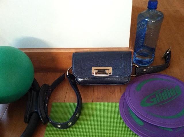 Hipsters for Sisters Cobalt Blue Belt Bag Fanny Pack
