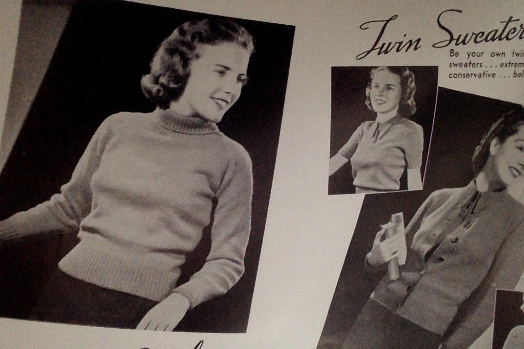 1940 knitting pattern