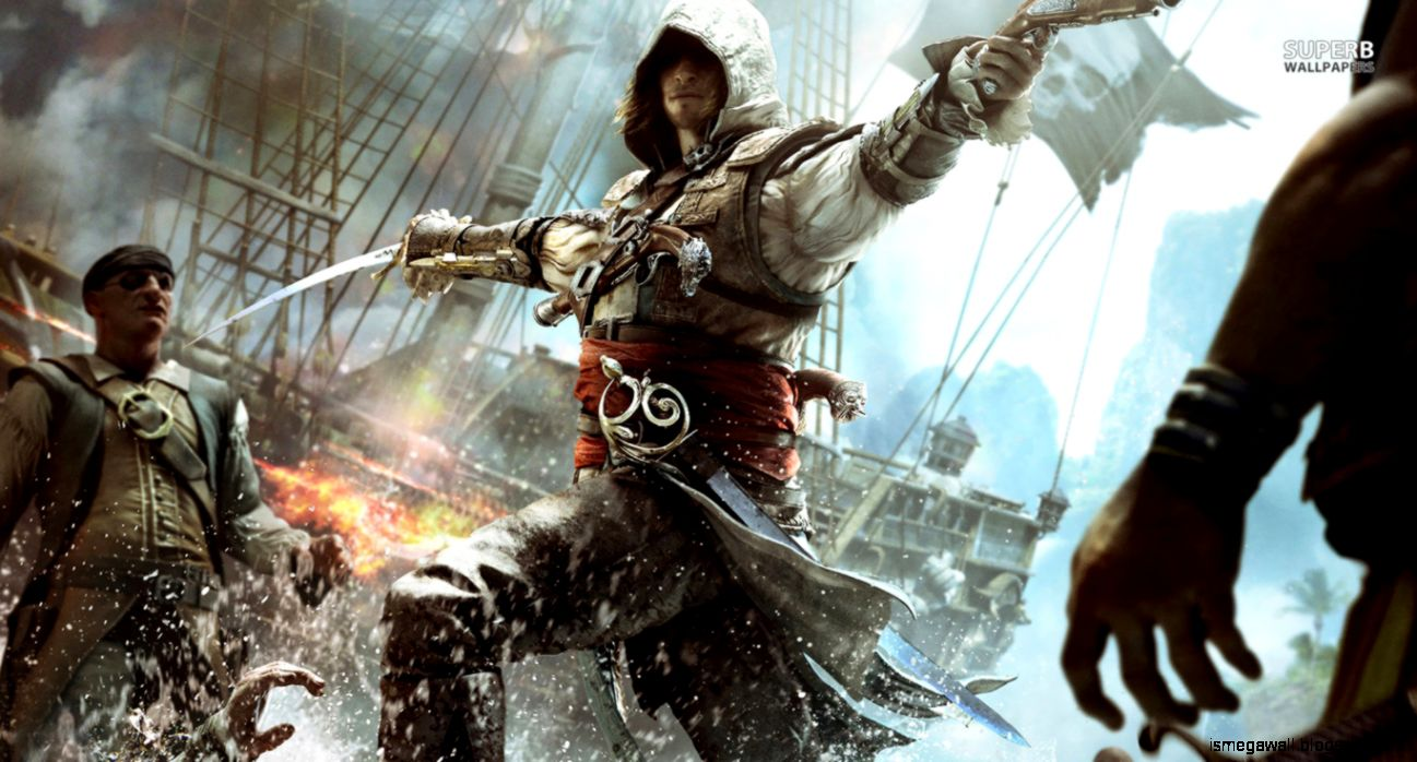 Assassin s Creed 4 Black Flag Game Wallpapers HD