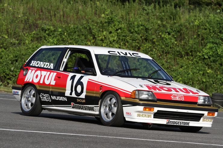 Mugen Motul Civic, kultowa Honda, japoński samochód, JDM, wyścigi, racing