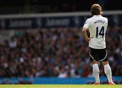 Luka Modric waits for a Real Madrid move