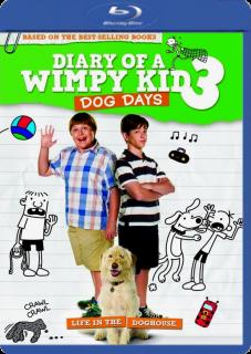 Carátula El diario de un chico en apuros 3 película brrip latino 2012