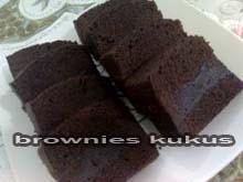 cara membuat resep brownies kukus amanda