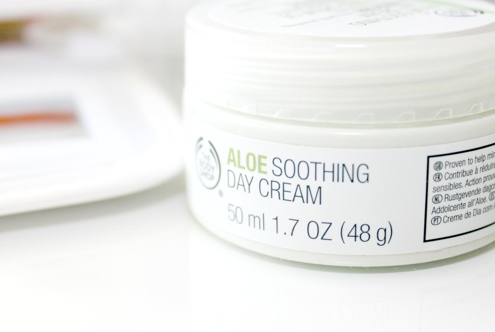 aloe soothing cream