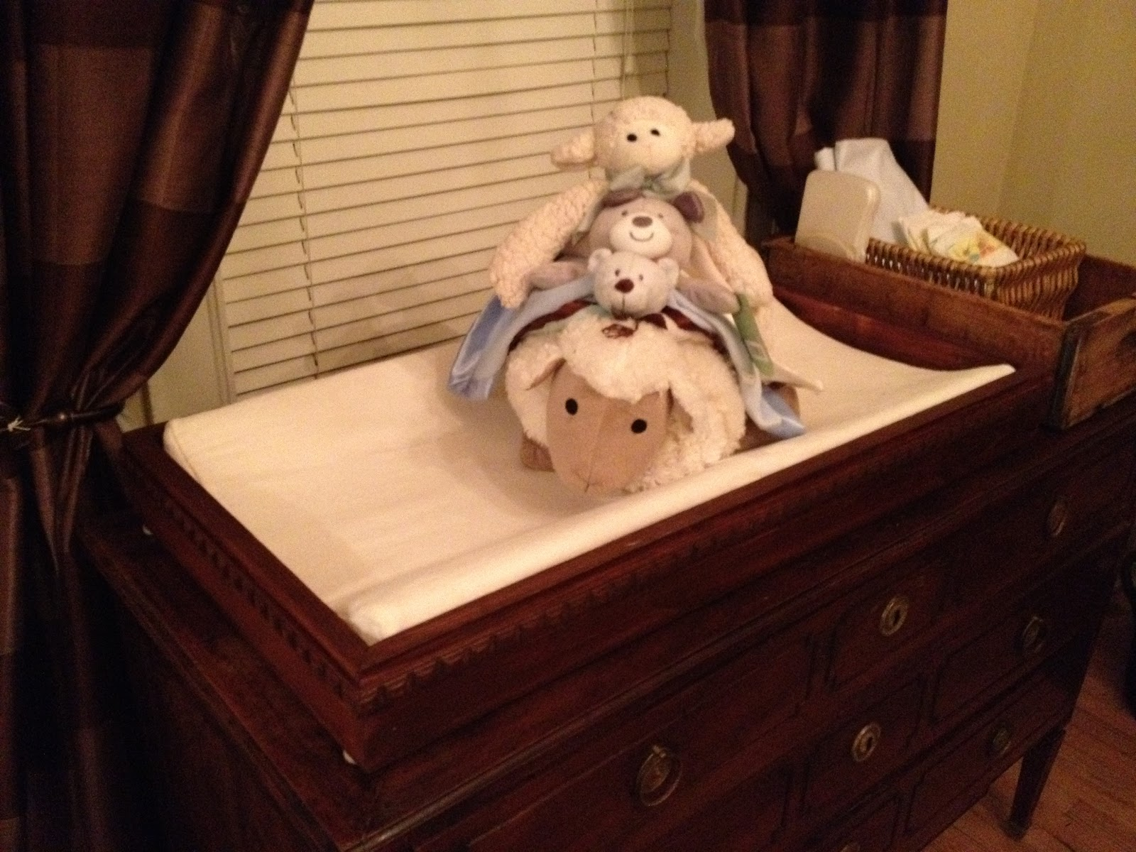 How to make a changing table topperper easy MegMade