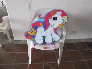 DECORACION CON GLOBOS MY LITTLE PONY   PEQUE  O PONY FIESTAS