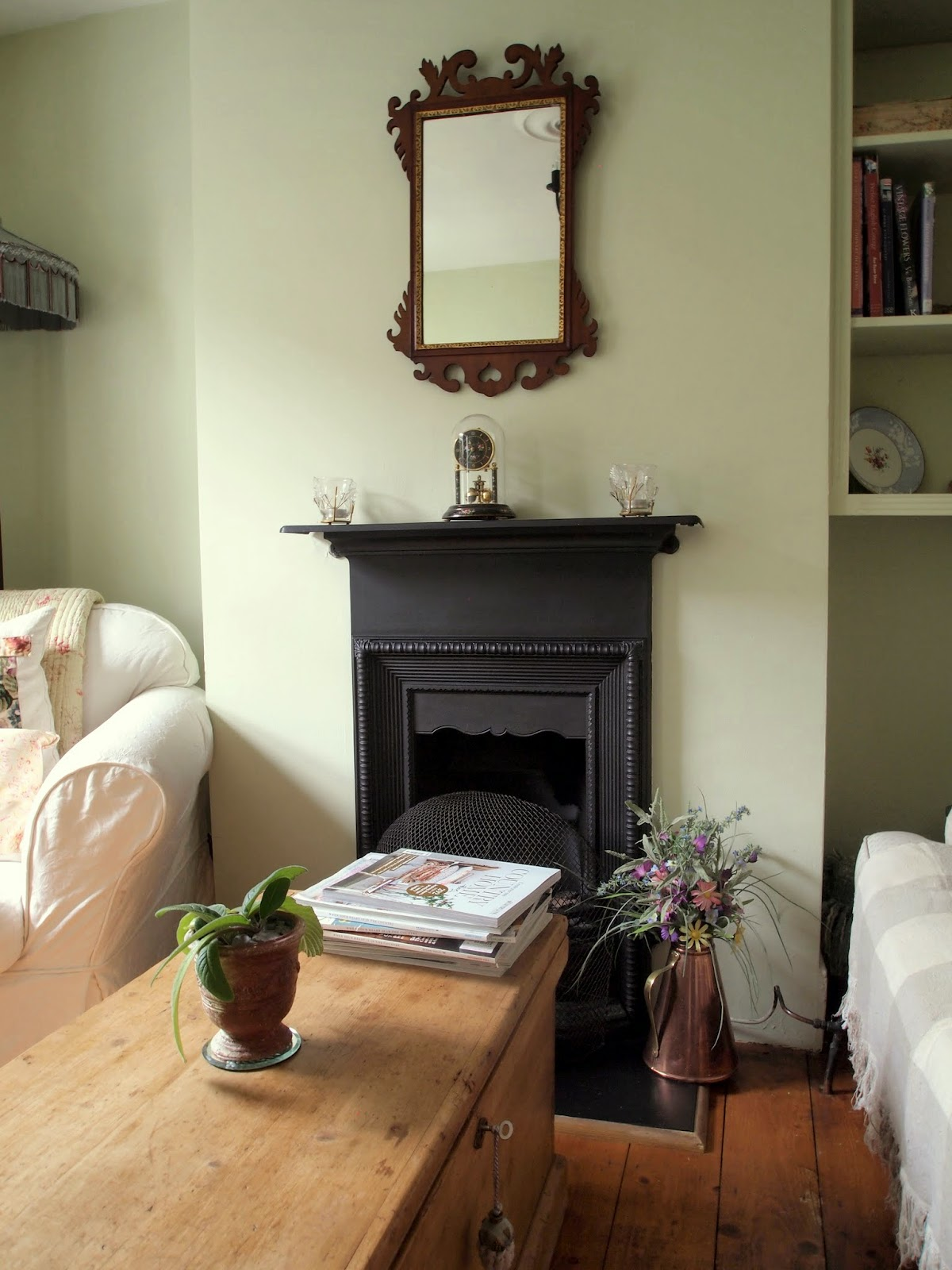 a cottage in totteridge to paint or not to paint