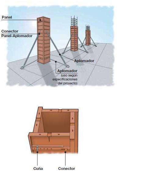 Construcci n civil moldajes for Pilares y columnas