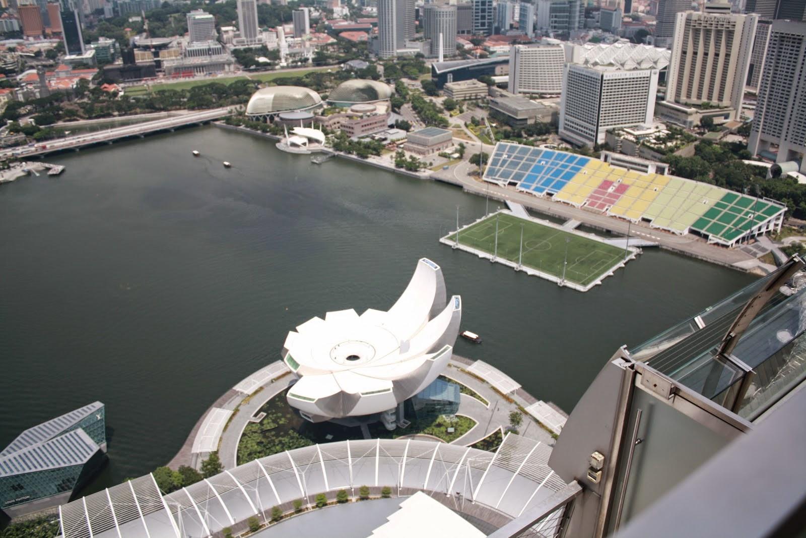 campo de fútbol en singapur