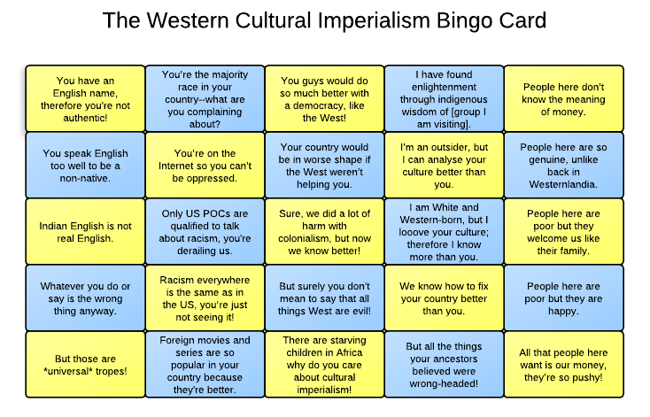 """are human rights a form of cultural imperialism Summary and quotations from """"human rights and the necessity for cultural change"""" by rhoda e howard and from """"the imperialism of human rights"""" by vinay lal."""