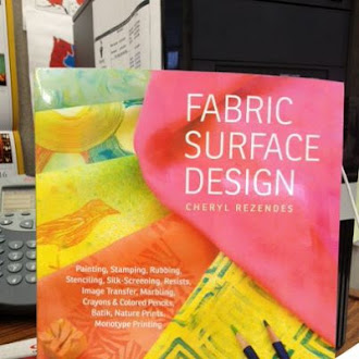 Fabric Surface Design by Cheryl Rezendes Rulewich