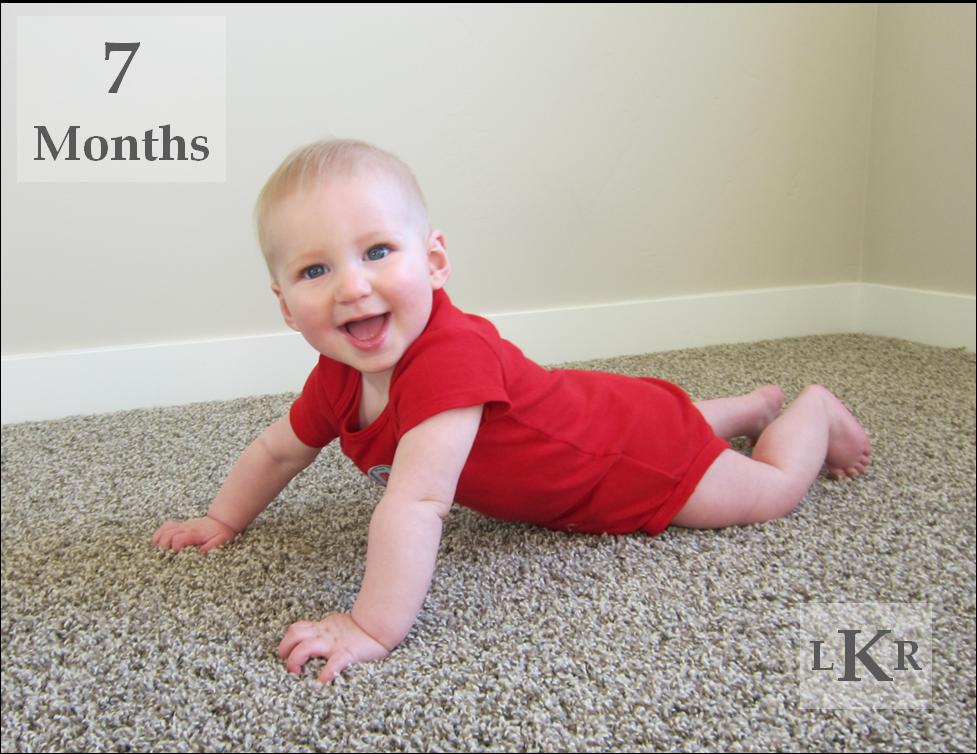 laurabird 7 months old. Black Bedroom Furniture Sets. Home Design Ideas