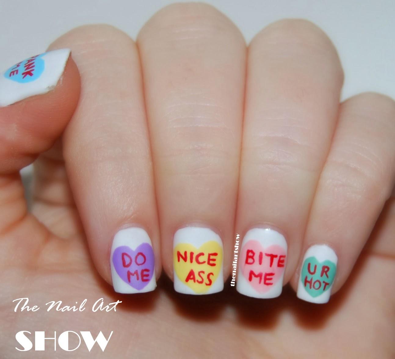 The Nail Art Show Naughty Valentine