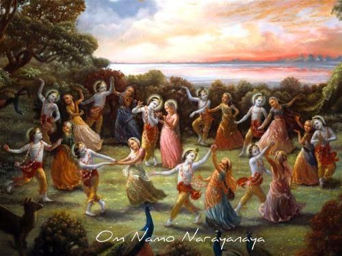 கண்ணன் கதைகள், குருவாயூரப்பன் கதைகள், கண்ணன் கதைகள் (51) - ராஸக்ரீடை