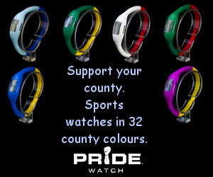 Sports watches for supporters of all 32 counties.