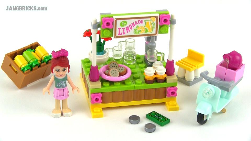 Toys R Us Lemonade Stand : New lego friends disney princesses set reviews