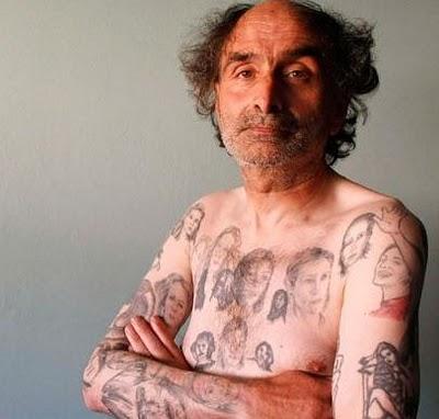 Tatuaje de Roman Riquelme sentado - Tattoos and Tattoo Designs