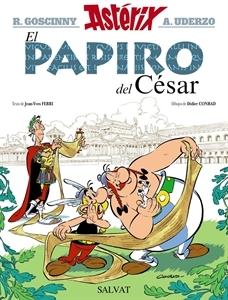 Ranking Mensual. Número 2:  Astérix, El Papiro el César.