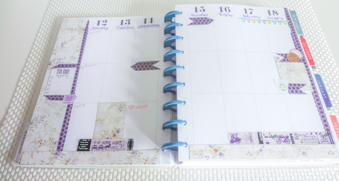 decorate your planner with me