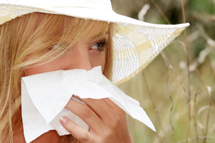 тест на аллергию с кусочком льда