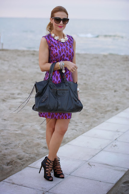 French Connection disco dress, Balenciaga Work, Zara lace up shoes, Fashion and Cookies, fashion blogger