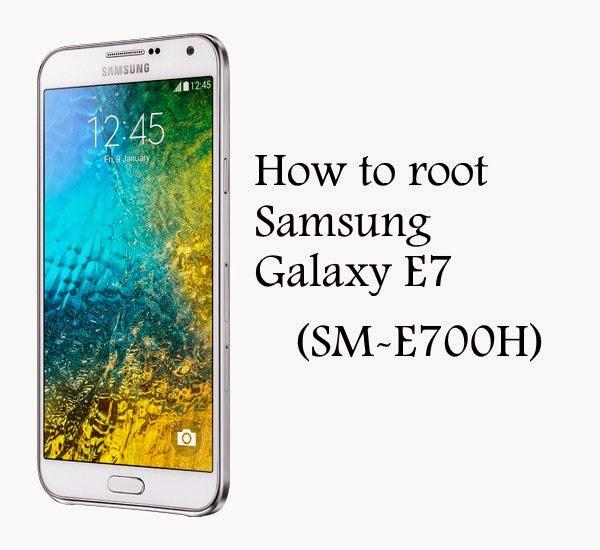 Root samsung galaxy e7 sm-e700h