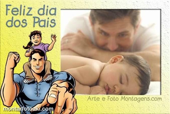 montagem para o dia dos Pais