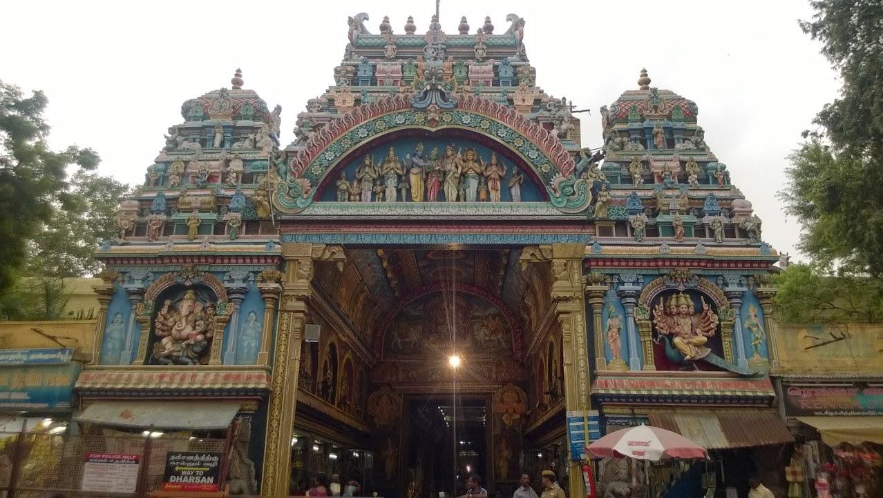Madhrai Meenakshi Temple