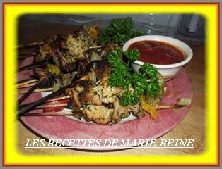 Recette de brochettes de porc l 39 ivoirienne recettes - Recette de cuisine ivoirienne gratuite ...