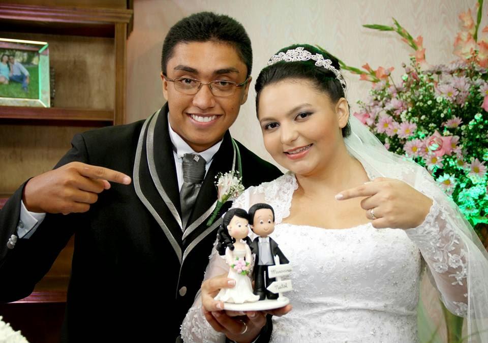 Cibele Lima e Miguel Silva - Topo de Bolo