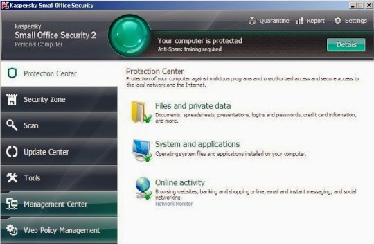 Download Kaspersky Small Office Security 2 Trial Version