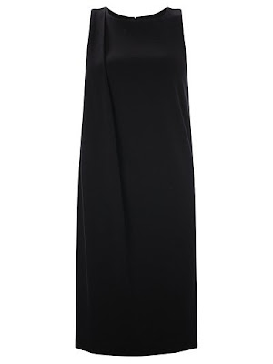 French Connection Sadie Drape Tunic Dress, Black