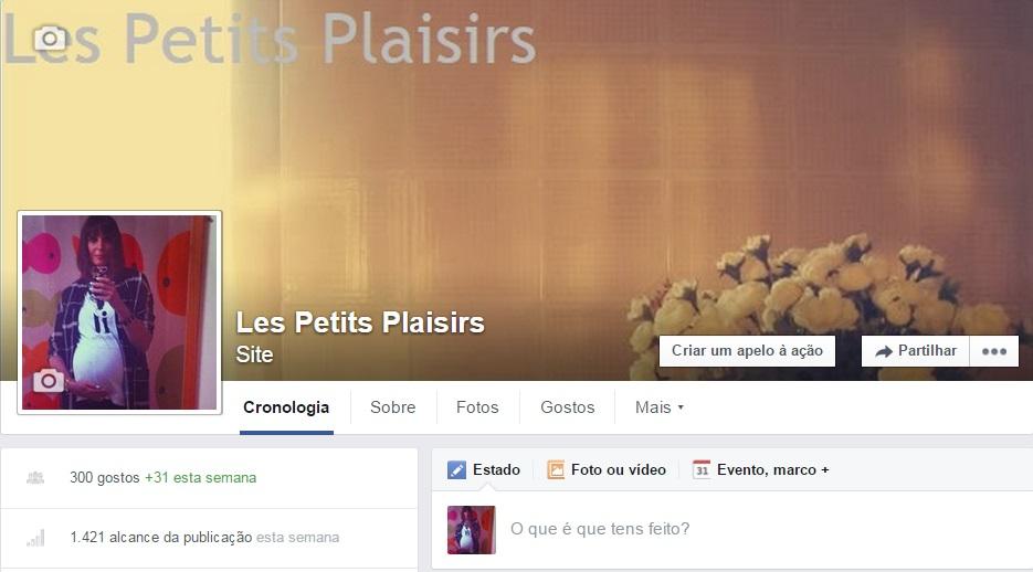 O Les Petits Plaisirs também está no Facebook
