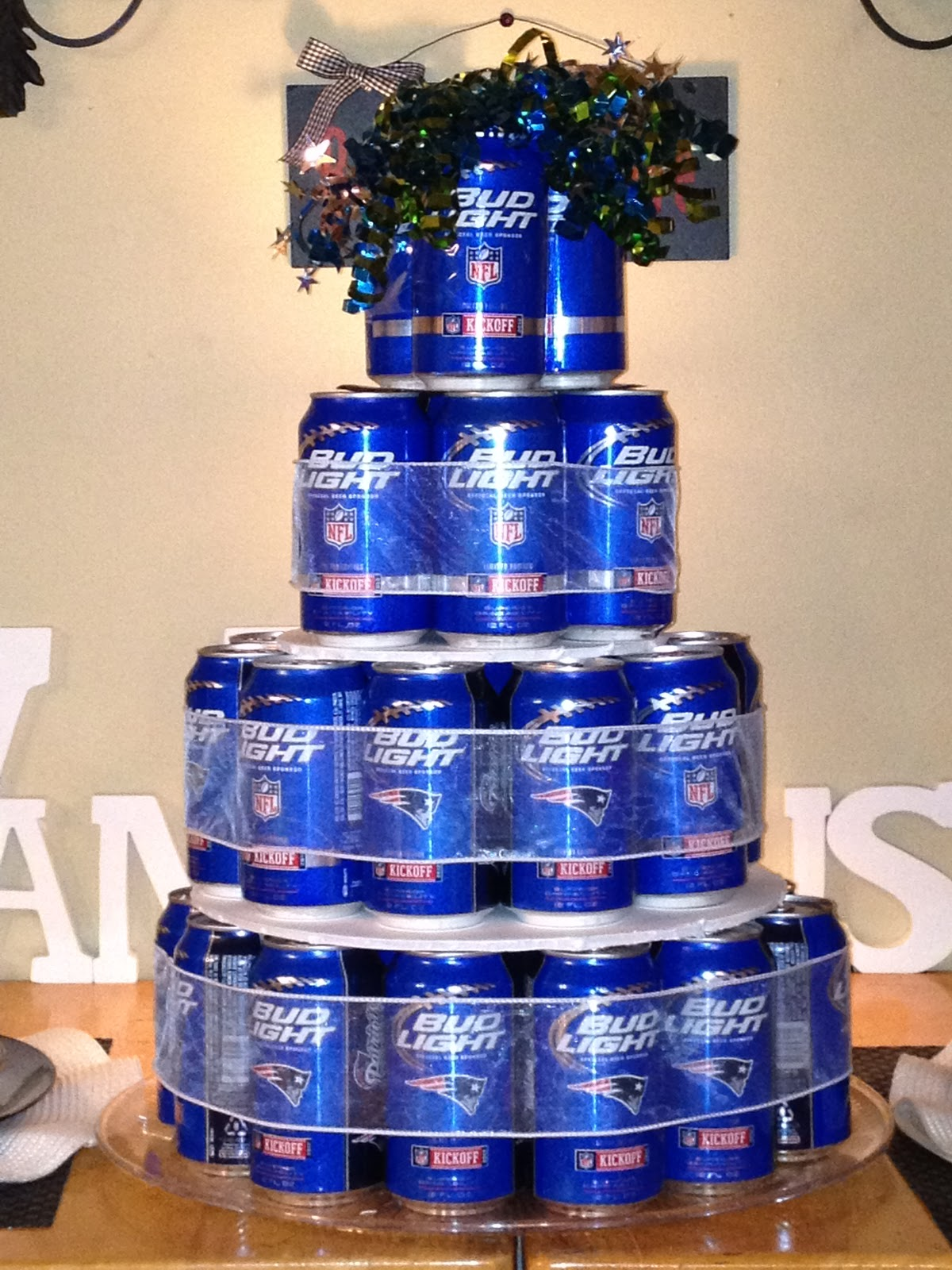 How To Make A Bud Light Can Cake