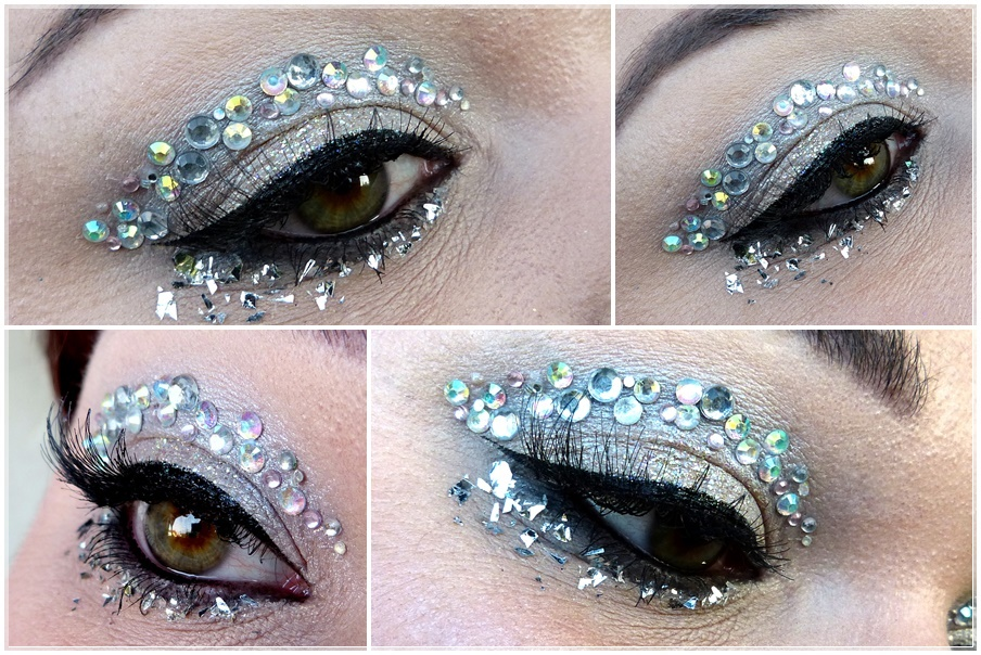 Glitzer Make Up