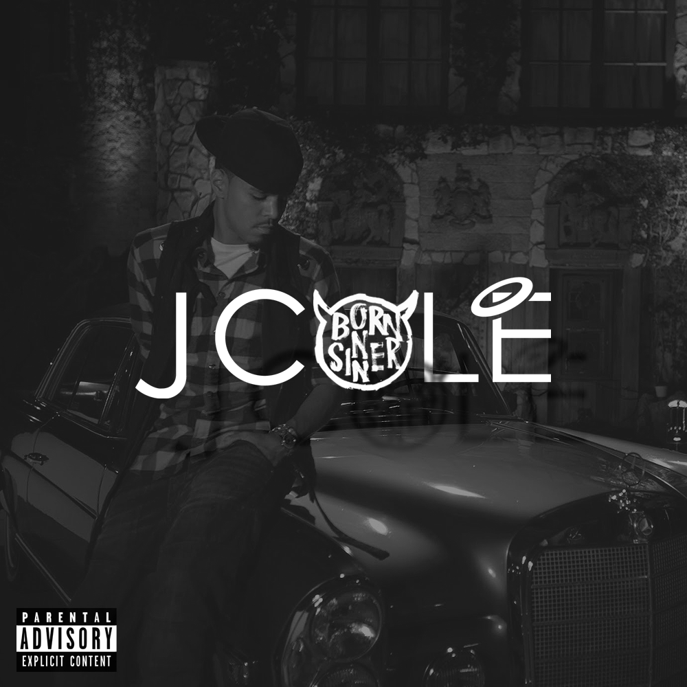 J Cole Born Sinner Album Cover J Cole: Born Sinner Co...