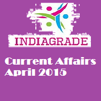 Current Affairs April 2015 PDF