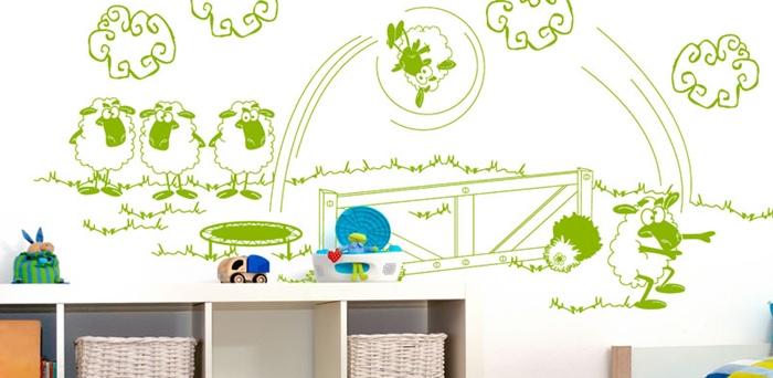 Vinilos infantiles decorativos fotomurales fotomurales dc for Fotomurales infantiles